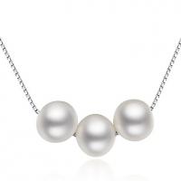 Luckypearl Женская Серебро 925 6-7мм природная жемчужина подвеска Incl.Necklace PP0002WS23266 #00896869