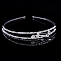 Память Любовные Женская Серебряный Diamond сплава Головные уборы HT005 #01028758