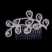 Память Любовные Женская Серебряный Diamond сплава Головные уборы T013 #01028694