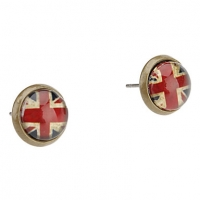 Британский Серьги картины флага #00567107