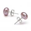 LuckyPearl Женские 6-7мм природный жемчуг серебряные серьги стержня EA0036L027260 #00822380