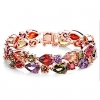 Multi-Color Crystal Мага женский браслет
