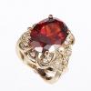 Длинные Женская Красный Кристалл кольцо