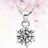 Женская 925 Серебряное ожерелье
