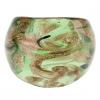 Gold Leaf Pattern абстрактный стиль цветной глазурью кольцо #00567485