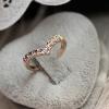 Fashion Diamonade V Форма кольцо #01027091