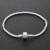 Мода Мужская Серебряный 21см с серебряным покрытием Браслет #00875396