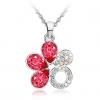 Сакура Форма ожерелье (розовый)