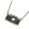 Винтаж камеры Shaped сплава 65 * 4,8 * 1 см Ожерелье #01095425