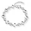 925 Baihe Женщин серебряные Длинные 20см ручной цепи