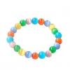 Multi-Color Диаметр 6мм Cat Eye Камень ручной цепи