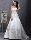 KIRANA - Платье свадебное из атласа #00160276