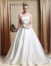 LESSIE - Платье свадебное из атласа #00168292