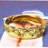 Звезда Мага Женщин плакировкой золота 18k Регулируемые кольца