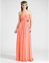 Длинное шифоновое платье для свидетельницы #00194140