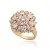Xinxin Женская золото 18K Циркон кольцо J0608