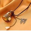Dumoo Винтаж бутылка и бабочка Форма ожерелье (случайная поставка & Просто только один)