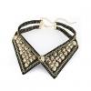 Женская Европа Винтаж Большой Джем стоять воротник ожерелье 38 * 9 * 3,5 см #01108525