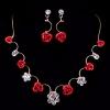 Память люблю женщин выросла Shaped Невеста Ожерелье #01130205