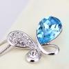 Бабочка Форма ожерелье (синий)